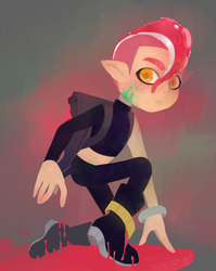 Agent 8 by grinningserpent