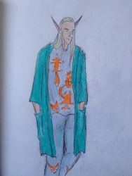 Thranduil's secret PJs 18: time for foxes  by mintdr