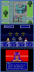 Phantasy Star II Remake Mockup by BG87