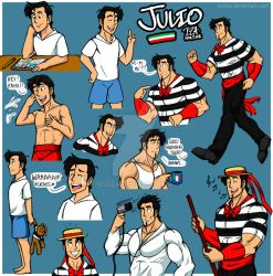 Just a Bunch of Julios by IzIzIza