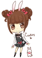 .:Cookies and Kyu's new outfit 8D:. by Hitswi