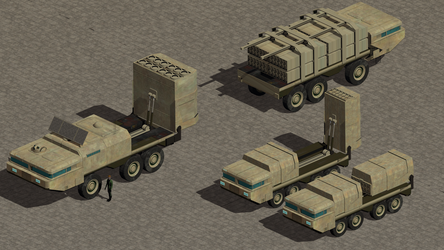 Mobile Cruise Missile Launch Vehicle by wbyrd