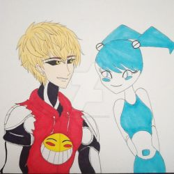 Genos and XJ9 by MercedesVee