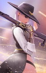 Overwatch Ashe by GawkInn