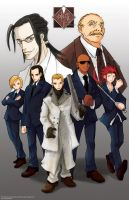 The Turks - Shinra - Hojo by NitrogenCity