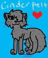 Cinderpelt by Flapper812-or-Shadow