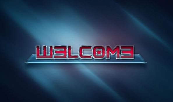 Welcome Photoshop Text by tashamille