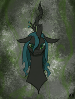 Queen Chrysalis by RavenHaywire