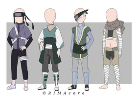 Outfit Adopts #2 (2/4 Open) by RIMAcore