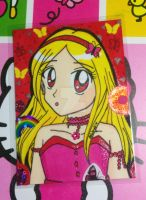 ACEO Gift: Charmer Ruby by Magical-Mama