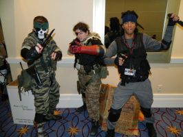 Snakes Katsucon 2015 by bumac