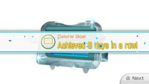 Calorie burning Goal Eighth day in a Row by Keyotea