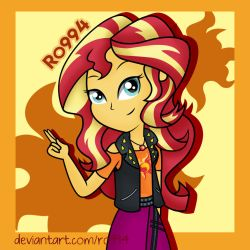 Sunset Shimmer by Ro994
