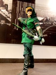 The Green Arrow by wolf-in-a-dress