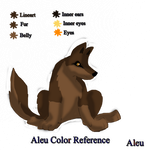 Aleu color reference by BahatiUpendo