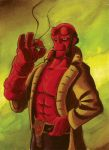 Hellboy 01 by CROMOU