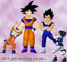 Ain't got nothing on us by Dbzbabe