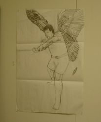 Steven Storm Angel- Final Project in Art 4B 2006. by Steven115