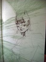 Batgirl in 6 easy steps STEP 2 by jimlee00