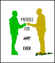 Heroes for Hire Poster by Mr-Psycho-Mate