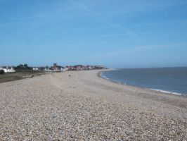 View of Thorpe Ness from Aldeburgh by Anita-Sanderson