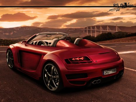 Audi RS Wild Cherry by RS--Design