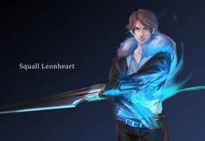 Squall Leonheart by MaskedHorus