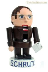 Dwight Schrute Nutcracker by eyefeather
