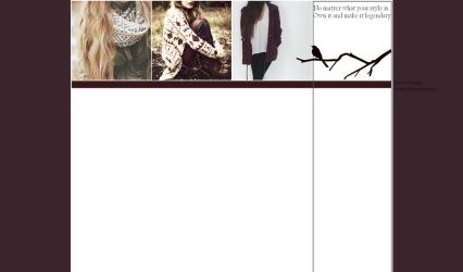 Free layout - fashion by JulieKrocova