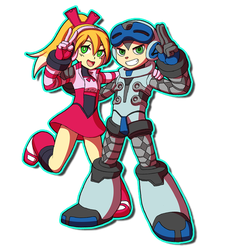 Mighty No.9 Tribute by ObstinateMelon