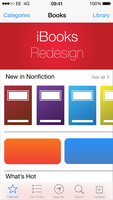 IBooks iOS 7 Redesign- Store by hamzasaleem