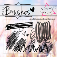Brushes BHR by iBeHappyRawr