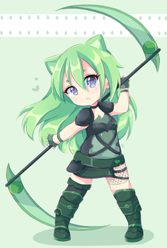 Verde Chaton (RWBY) [cmm] by Neill-Ayane