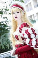 Lady in Red I by EnchantedCupcake