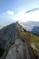 Genoese fortress by silverwing-sparrow