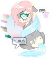 pastel pony || closed adopt by s-iins