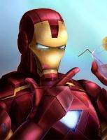 ::CO::Fab Avengers-Ironman of charismatic justice by chiihun
