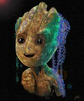 Baby Groot by RedSaucers