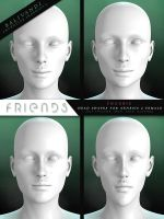 FREEBIE - Friends G2F Head Shapes by Virtual-Fox