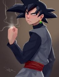 Goku Black by SteveMillersArt