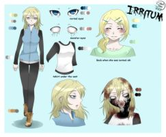 Creepypasta OC Profile [OLD] - Irritum by SilentSnow777