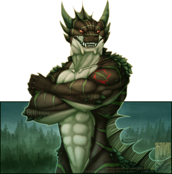 Comish - King of the Marsh by TwilightSaint