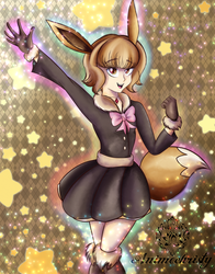 Super star Eevee by Animechristy