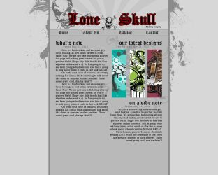 Lone Skull Site Template by Osiris2735