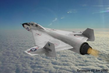 USAF SUPERSONIC VTOL BOMBER 1968 by CUTANGUS