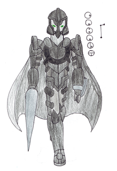 Cabalt, Toa of the Constellation Equuleus by Color17