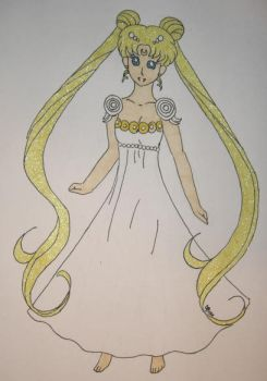 Princess Serenity by DavisJes