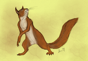 Cali's Squirrel by Cheddarness8