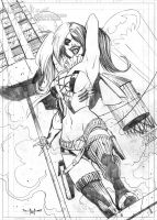 Harley Quinn commission by qualano