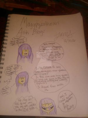 Maggpyeathean/Maggie ask blog by scarfear15